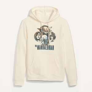 Star Wars: The Mandalorian Graphic Pullover Hoodie